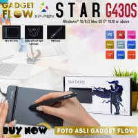 Drawing Tablet Drawing Pad Pen XP-PEN Star G430S Zoom Webinar MAC