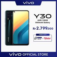 Vivo Y30 [4/128] RAM 4GB ROM 128GB Emerald Black