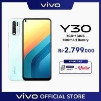 Vivo Y30 [4/128] RAM 4GB ROM 128GB Moonstone White