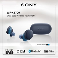 SONY WF-XB700 Blue Extra Bass Truly Wireless / TWS XB700 / XB-700