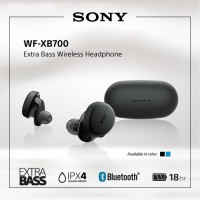 SONY WF-XB700 Black Extra Bass Truly Wireless / TWS XB700 / XB-700