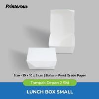 Paper Lunch Box Small / Kotak Makan Kertas Kecil