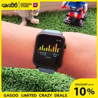 Smartwatch thermometer suhu tubuh [ORIGINAL] - Goodeva Watch G1 - Brilliant Tosca