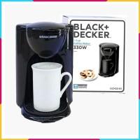 Coffee Maker 1 cup Black Decker DCM25-B1 Free Cangkir Kopi