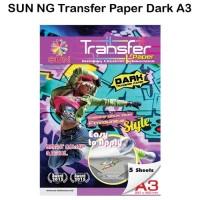 Kertas Transfer - SUN Next Generation Transfer Paper Dark A3