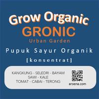 Pupuk NPK Cair / Pupuk Organik Kangkung, Sawi, Bayam GRONIC 100ml