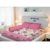 Vallery Bedcover Printing King 180 Corak Lisa
