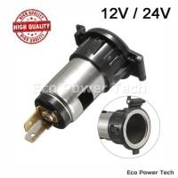 Soket Colokan Listrik 12V Socket Lighter Charger Mobil Motor 12 Volt