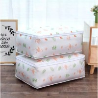 Storage Tempat Bed Cover Dust Cover Cloth Bag Selimut Sprei Bedcover