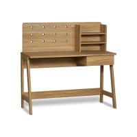 Meja Belajar Minimalis KONPA Desk With Hutch - Isiruma