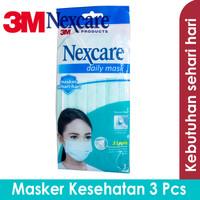 Nexcare 3M Earloop Mask 3 Pcs - Masker Kesehatan M-20