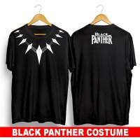kaos baju distro superhero marvel BLACK PANTHER COSTUME