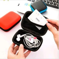 dompet headset kabel charger casan hp serbaguna cable pouch bag case