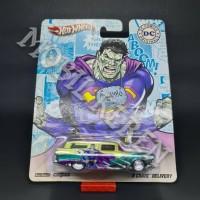 Hot Wheels DC Comics Bizarro 8 Crate Delivery Gold