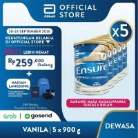 Ensure Vanila 900 g Susu Nutrisi Dewasa Rendah Laktosa - 5 klg
