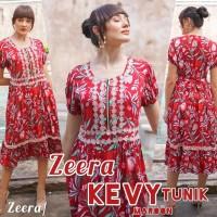 Daster Arab Tunik Kevy by Zeera Original / Baju Wanita