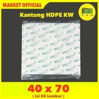 Kantong Plastik Kresek Putih Tebal UK 40x70 HDPE