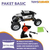 Promo Paket Basic RC Speed King 1:14 ( 3 Unit )