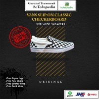 Vans Slip On Classic Checkerboard Global Original
