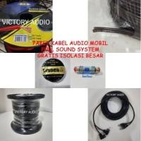 Paket Kabel untuk Audio Mobil Full Set Kabel Instalasi Sound Syste