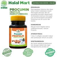 Procumin Propolis Habbatussauda Produk Asli HNI HPAI