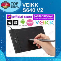 VEIKK S640 Digital Graphic Drawing Pen Tablet OSU Alt H420 G430 G640