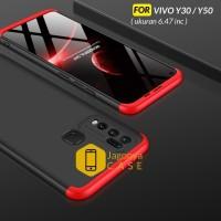 Case Vivo Y30 / Y50 Hardcase Original GKK 360 Full Protective