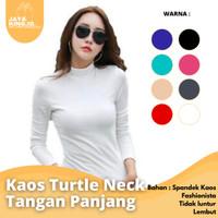 Manset Turtle Neck / Kaos Tangan Panjang / Daleman / Grosir