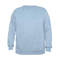 Sweater Basic Jaket Polos Unisex - Abu Muda
