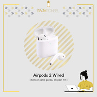 (READY) airpods 2 wired with charging case garansi inter