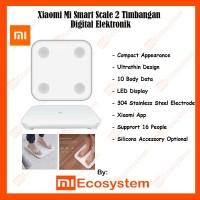 Xiaomi Mi Body Fat Smart Scale 2 LED Timbangan Badan Digital