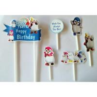 topper tusukan hiasan kue cake ulang tahun birthday karakter bada namu