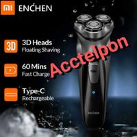 Xiaomi Enchen Blackstone 3D Alat Cukur Jenggot Kumis Portable