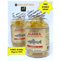 minyak ikan alaska / fish oil / k max alaska
