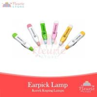 Pembersih Telinga Earpick Korek Kuping Lampu Flashlight LED Murah