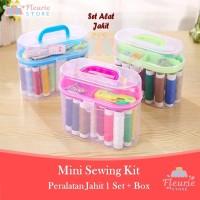 Mini Sewing Kit / Peralatan Jahit Rumah Tangga (Jarum Benang dll)