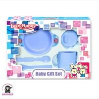 LUSTY BUNNY Baby Feeding Gift Set Alat Makan Bayi isi 5 - LB 1414