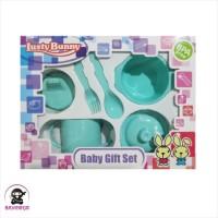LUSTY BUNNY Baby Feeding Gift Set Alat Makan Bayi isi 6 - LB 1421