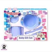 LUSTY BUNNY Baby Feeding Gift Set Alat Makan Bayi isi 5 - LB 1404