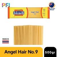 PASTA BIONDI ANGEL HAIR NO 9 500GR , SAN REMO pasta Factory Spaghetti