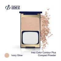 Inez Color Contour Plus Compact Powder - Ivory Glow (New Case)