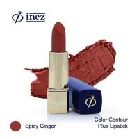 Inez Color Contour Plus Lipstick - Spicy Ginger (New Case)