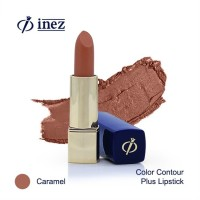 Inez Color Contour Plus Lipstick - Caramel (New Case)