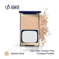 Inez Color Contour Plus Compact Powder - Natural Glow (New Case)