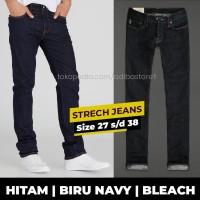 Celana Jeans Slimfit / Skinny / Pensil Pria 33 - 38