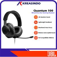 JBL Quantum 100 / Q100 Wired Over Ear Gaming Headset Headphone Resmi