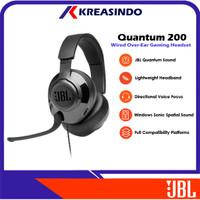 JBL Quantum 200 / Q200 Wired Over Ear Gaming Headset Headphone Resmi