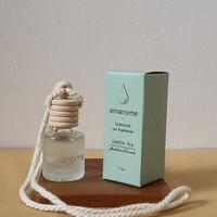 Pengharum Mobil, Parfum Mobil, Aroma terapi, Pewangi Ruangan Amarome - Green Tea