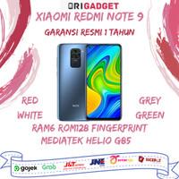 Xiaomi Redmi Note 9 6/128 GB 6GB 128GB Garansi Resmi Xiaomi Indonesia - Merah
