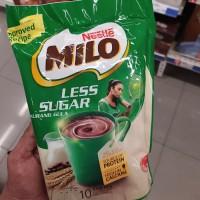 milo instan 3in1 less sugar isi 10 stik